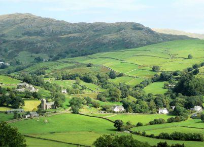 Kentmere village