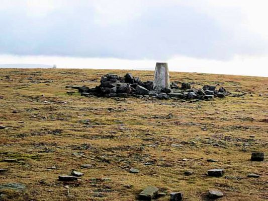 Summit Cross Fell