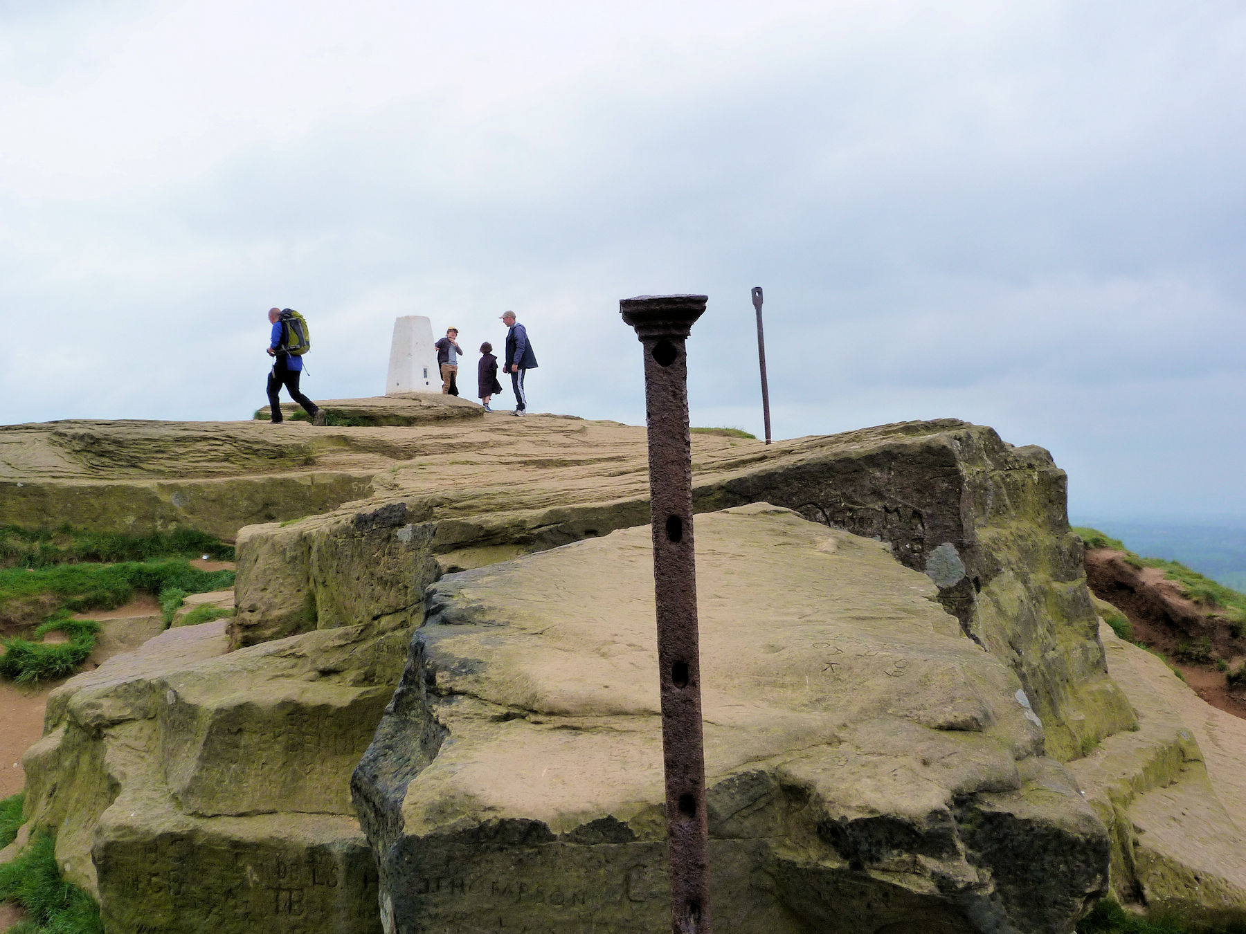 Roseberry Topping summit area