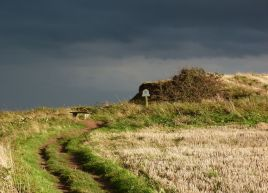 Storm approaching Staithes