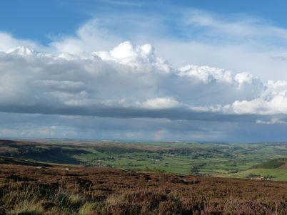 The moors over Glaisdale