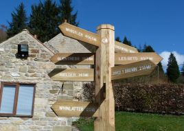Cycle routes Dalby Forest