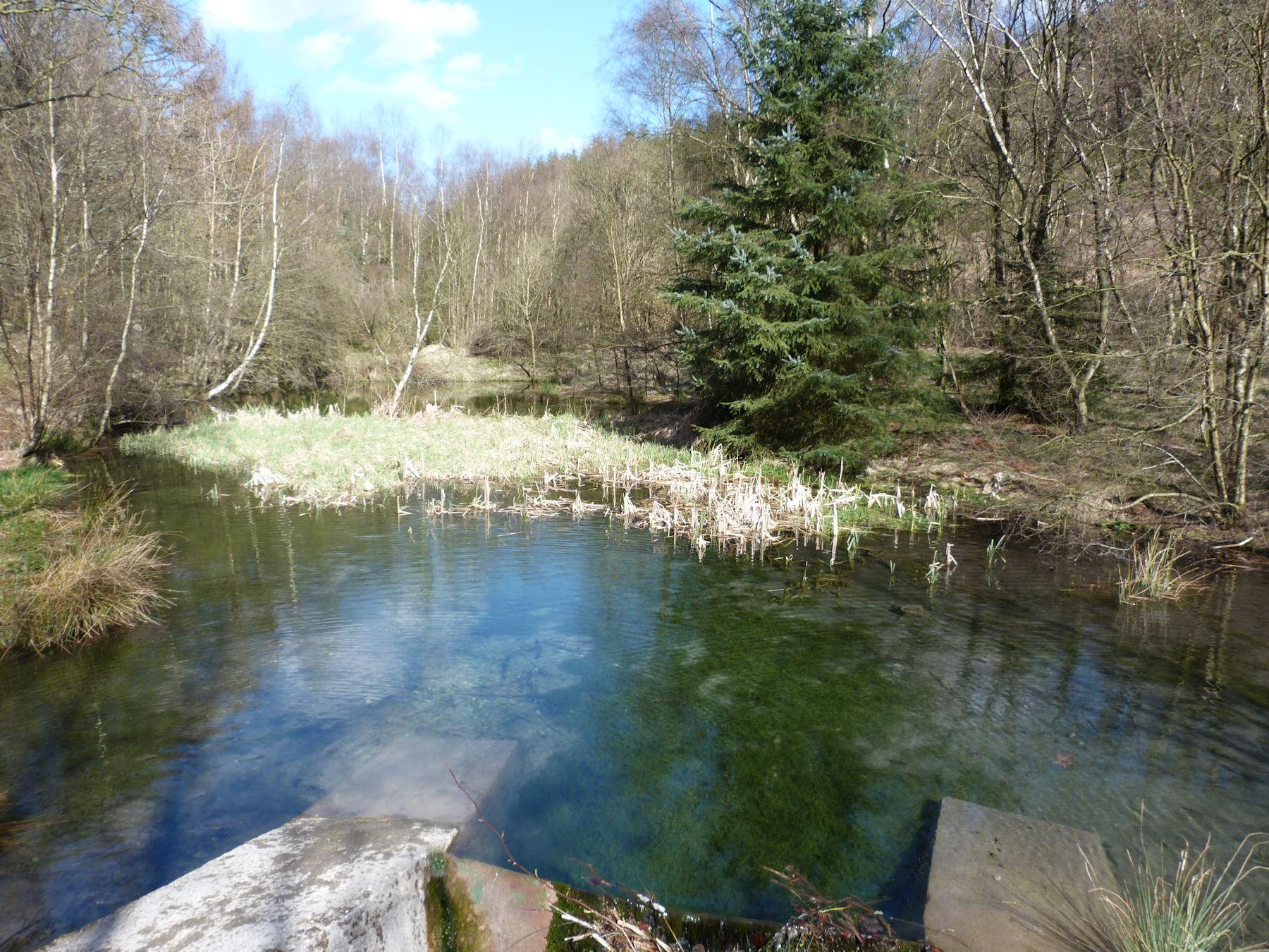 Reservoir on Thornton Beck