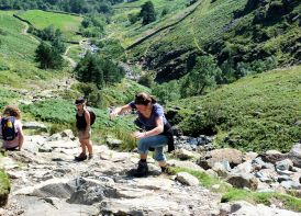 Stickle Ghyll climb