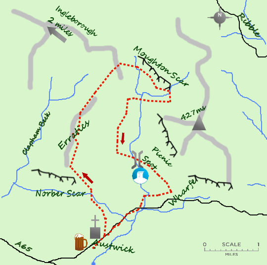 Austwick map