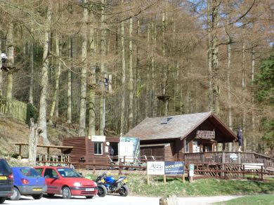 Go Ape in Dalby Forest