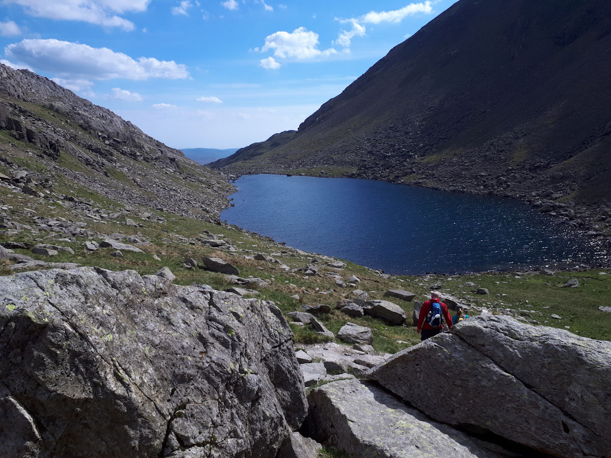 Goats Water looking south