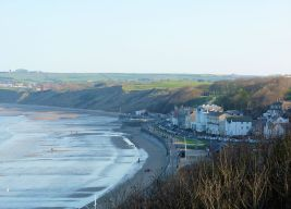 Filey from Filey Brigg