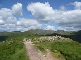 Fairfield from Raven Crag