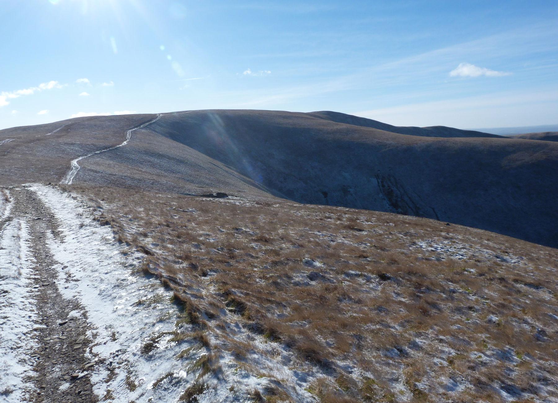 Howgills ridge
