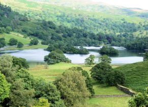 Rydal Water from Loughrigg