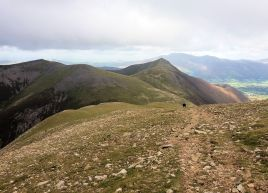 Grisedale Pike from Grasmoor