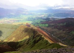 Grisedale Pike looking east