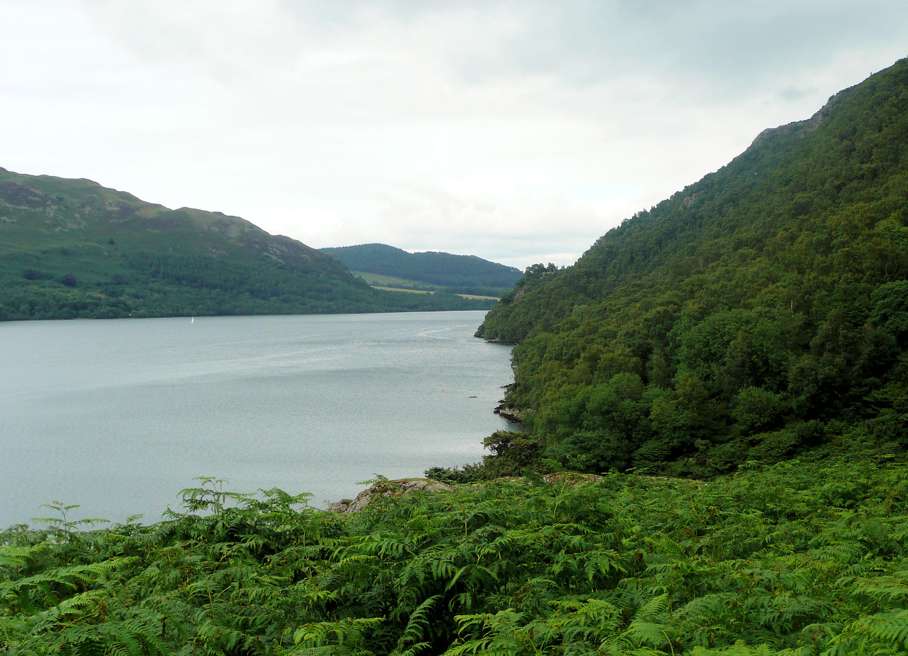 Ullswater, lakeside path