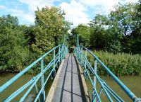 Suspension Bridge Low Hutton