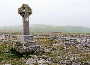 Monument above Orton
