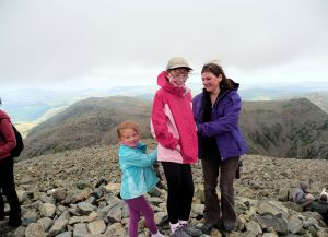 Summit Scafell Pike