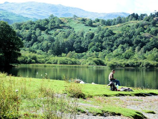 Fishing on Rydal