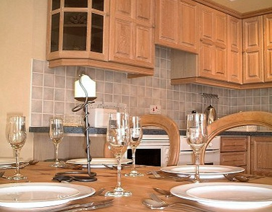 Dining kitchen area