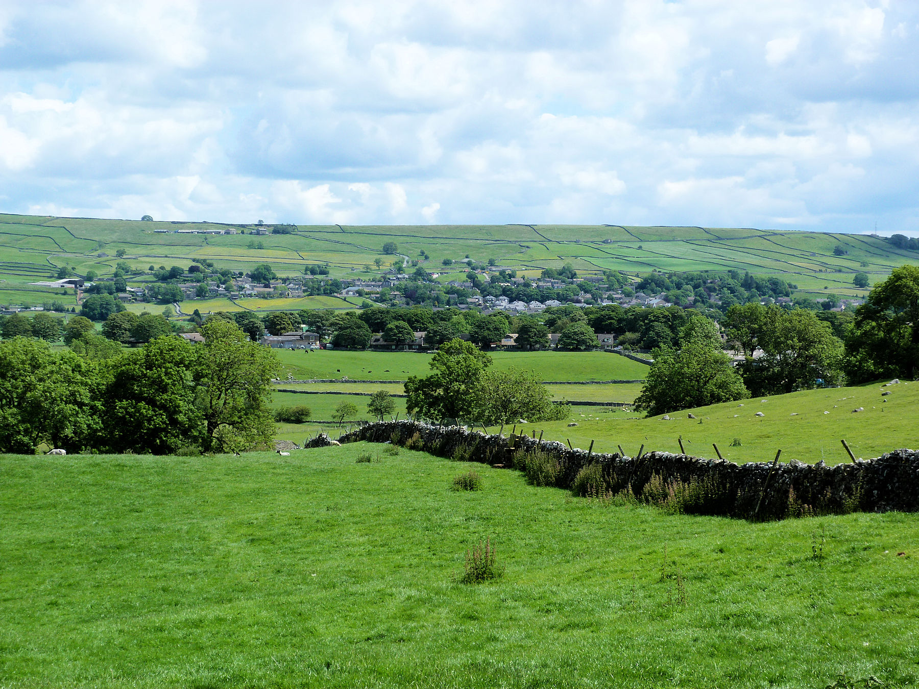 Grassington from Linton