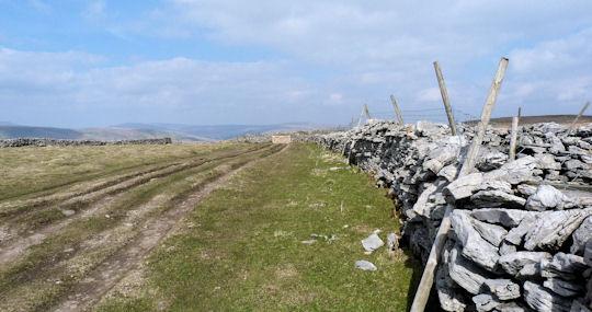 Pennine Way on Dodd Fell Hill