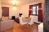 The Flat dining area