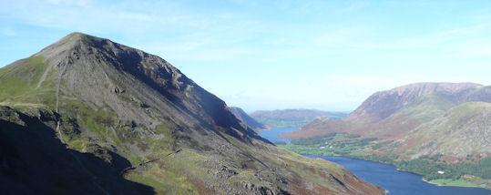 High Crag from Haystacks