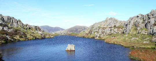 Stunning summit tarn Haystacks
