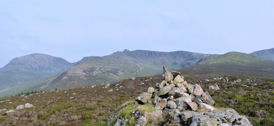 The Steeple ridge from Haycock