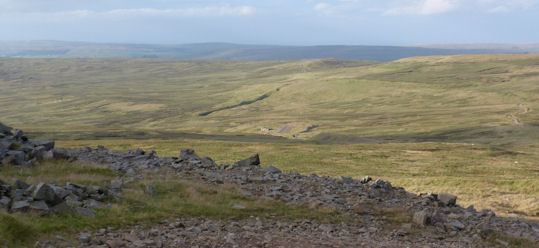 Typical Pennine moorland Cross Fell
