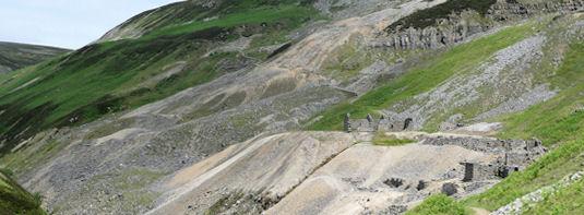 Lead mines Gunnerside Gill