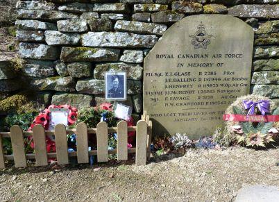 Memorial to Canadian airmen