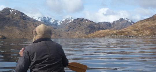 Canoeing on Loch Quoich