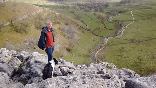On Malham Cove
