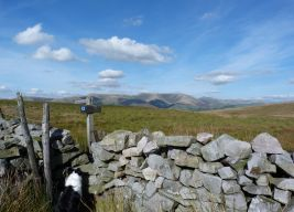 Howgills in view