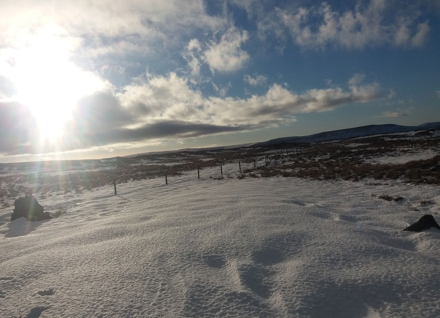 The Col in winter