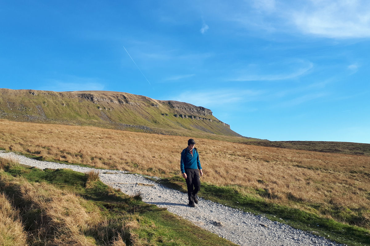 On the 3 Peaks repaired route