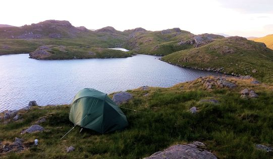 Perched over Sprinkling Tarn