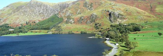 Buttermere low water