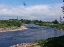 River Eden at Carlisle