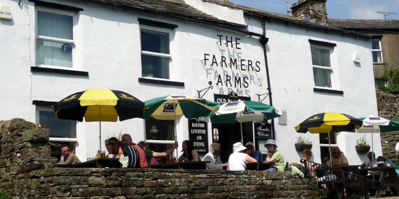 Farmers Arms. Muker