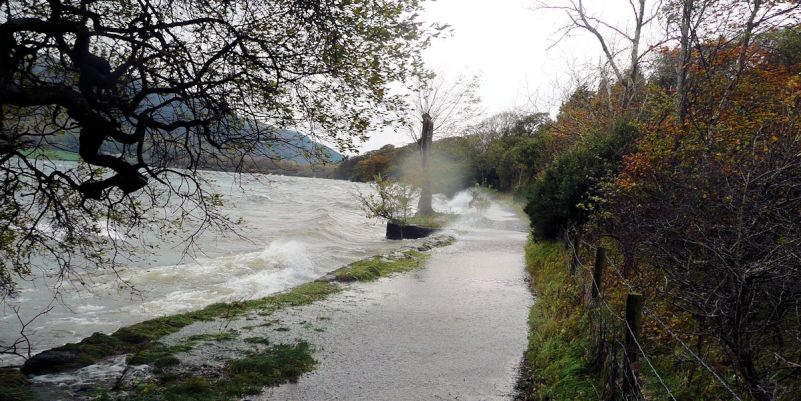 The path next to Ennerdale Water