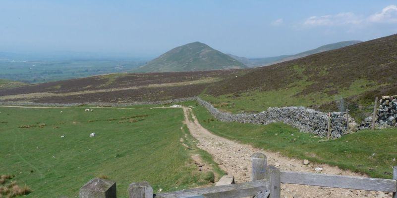 Dufton Pike in the Pennines