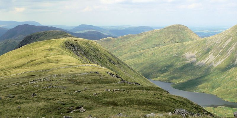 Gray Crag over Hayeswater