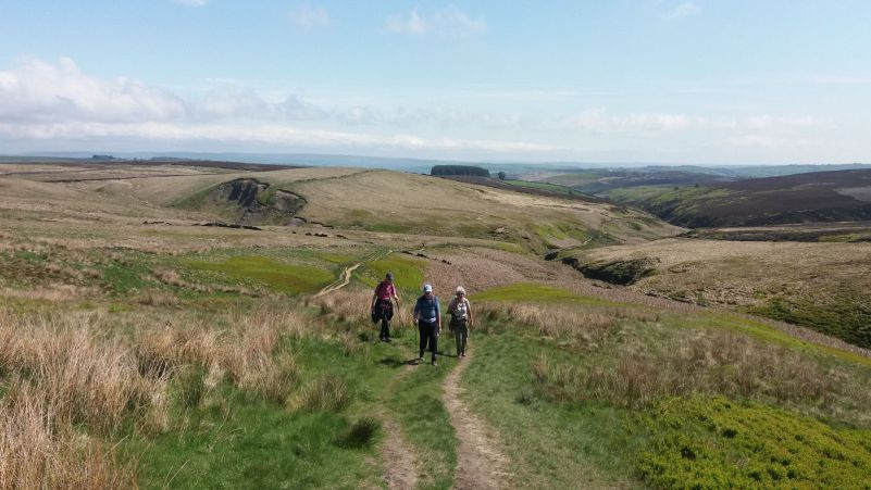 Fresh air, exercise and great views near Haworth