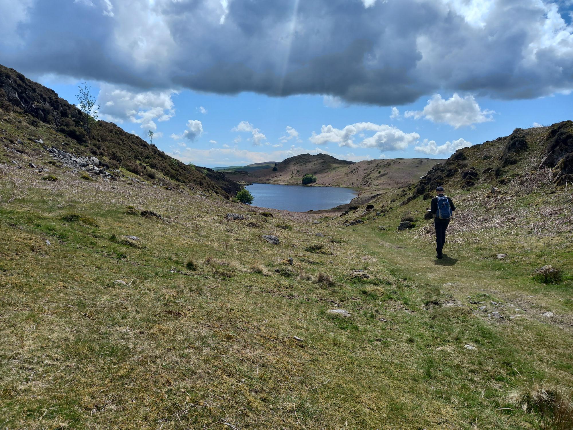 Beacon Tarn from the Cumbria Way