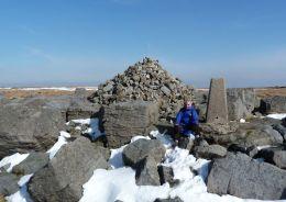 Summit of Great Whernside