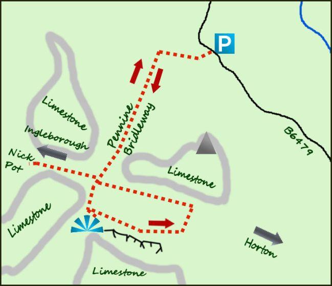 Ingleborough Nature Reserve map