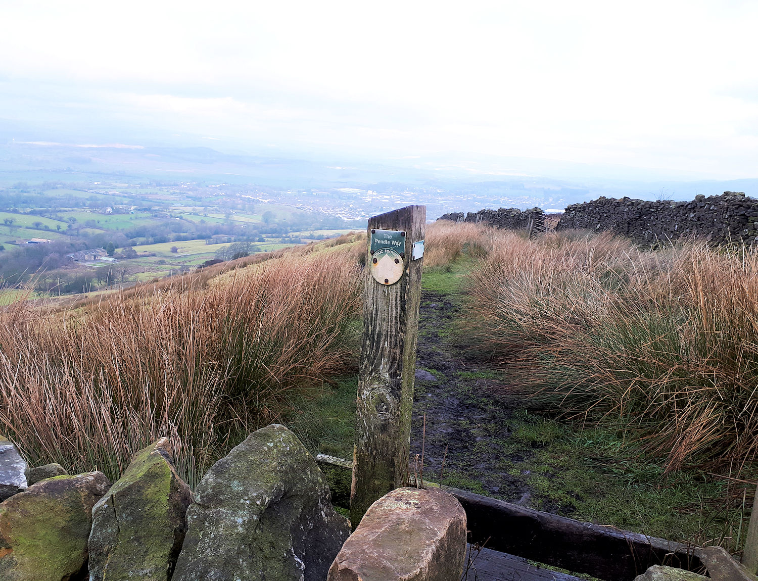 On the Pendle Way