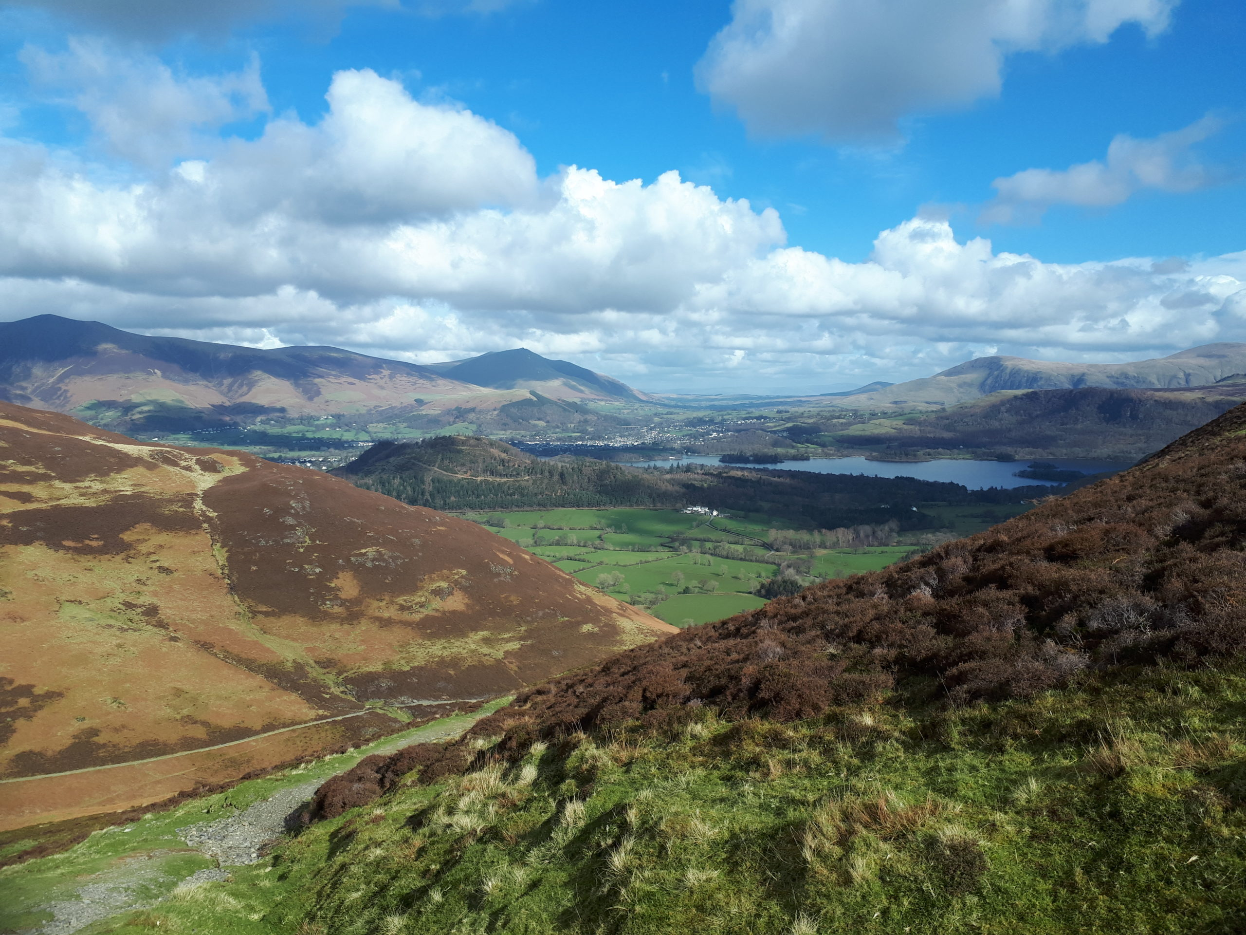 East from Causey Pike